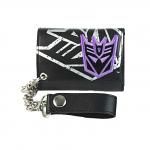 Transformers Decepticon Applique Black Wallet