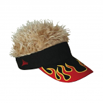 Flair Hair Flame Visor Blonde Hair