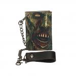 Zombies Die Cut Chain Wallet